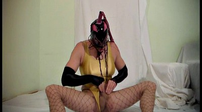 Pantyhose, Pantyhose cum, Pantyhose fetish, Latex, Mask