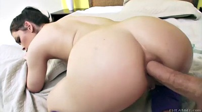 Outdoors, Close pussy, Kimber, Anal toying