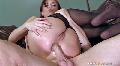 Stockings, Stockings anal, Stocking anal, Redhead, Office stocking, Big tits office