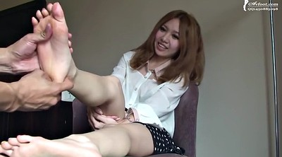 Japanese massage, Japanese feet