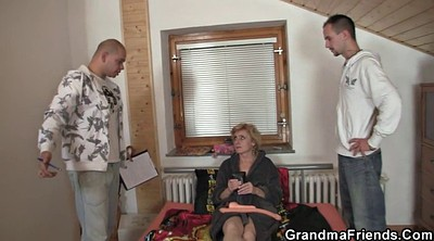 Granny, Thin, Woman, Two matures, Mature gay, Old woman