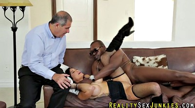 Man, Ebony ride, Interracial wife