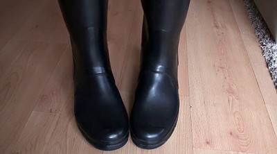 Boots, Rubber, Boot, Latex fetish, Rubber boots, Hunter