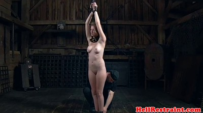 Enema, Enema bdsm, Ginger, Enema bondage