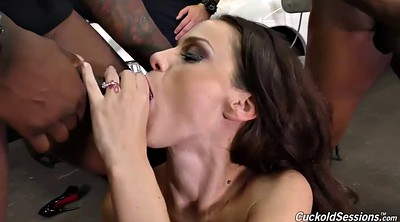 Cuckold, Lee, Wife facial, Anal gangbang, Watch wife