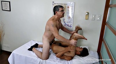 Young, Daddy gay, Gay daddy, Asian old, Gay office, Asian doctor