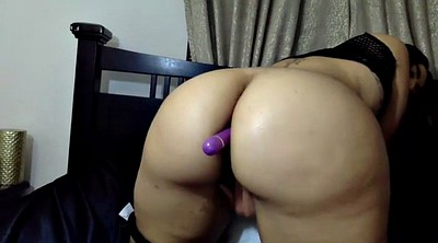 Masturbation solo, Big butt