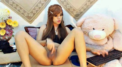 Webcam show, Shemale solo
