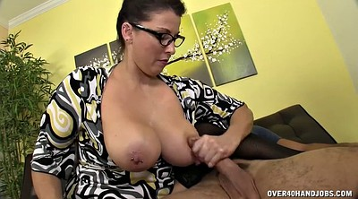 Glasses, Young masturbation, Brunette glasses
