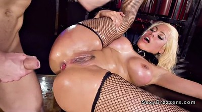 Oiled anal, Cage