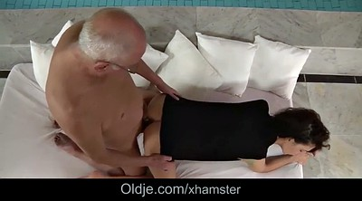 Old young, Anal granny, Farting