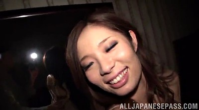 Passionate, Pantyhose handjob, Rough sex, Asian big tits