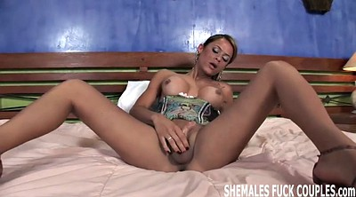 Shemale girl, Shemale and girl, Brides, Shemale and girls, Latina threesome