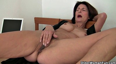 Grandma, Hairy grandma, French mature, French granny, Grandma pussy