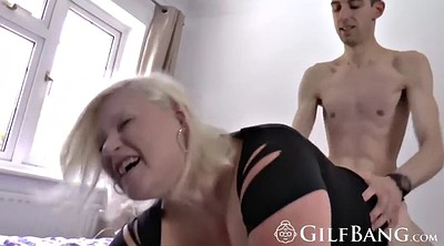 Granny anal, Young pussy, Anal granny