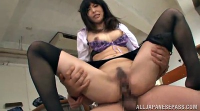 Mmf, Pantyhose fingering, Pantyhose blowjob, Asian handjob, Double handjob, Deep missionary