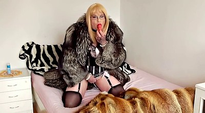 Fur coat, Mistress t, Mistress handjob, Fur