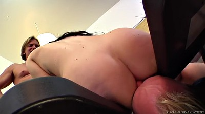 Watching, Threesome femdom, Cuckold wife