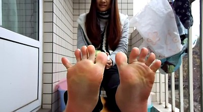 Chinese a, Asian feet, Asian foot, Sole