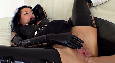 Fisting mature, Abused, Abuse, Latex anal
