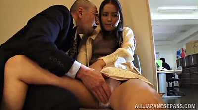 Skirt, Naughty office, Office asian