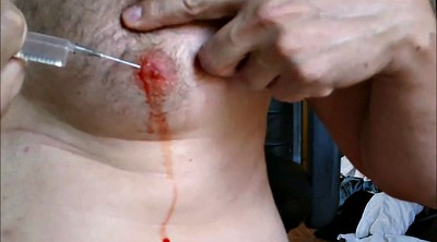 Injection, Sex game, Male, Inject