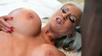 Granny anal, Mature double