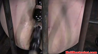 Cage, Torment, Gay dildo, Caged
