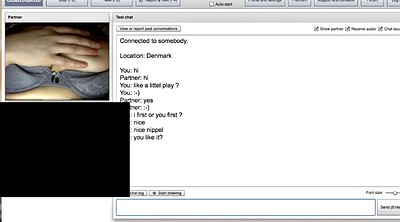 Nice girl, Chatroulette