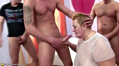Mom with young, Amateur mature