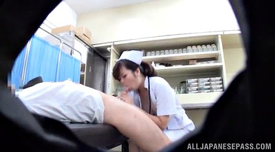 Pantyhose, Nurse, Asian doctor, Nurse pantyhose, Asian handjob