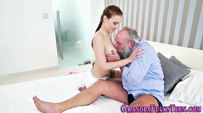 Old man, Blow, Cums