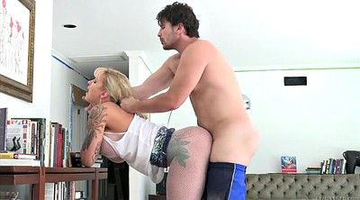 Ryan conner, Standing, Pantyhose fuck, Ryan, Stand, Horny mom
