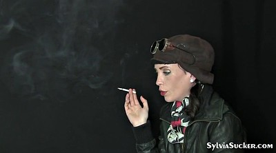 Young, Smoking blowjob, Eve