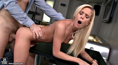 Interview, Only blowjob, Cooking, Cook, Casting blonde