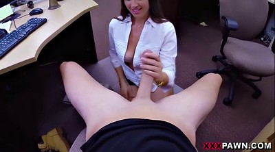 Office, Shaved pussy