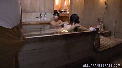 Asian granny, Spa, Asian man, Sauna, Old asian man, Hairy granny