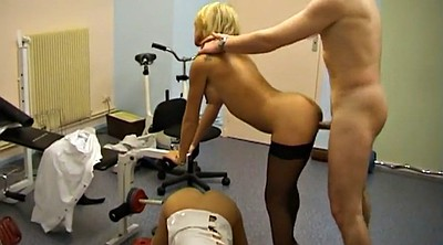 Trio, French milf, Amateur cfnm