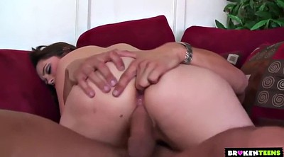 Doggy, Chubby anal, Holed
