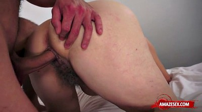Cum in mouth, Hairy pussy