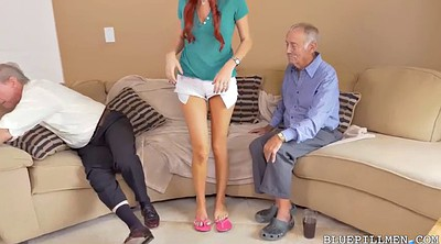 Old man, Old man cumshot, Grannies, Very young, Man