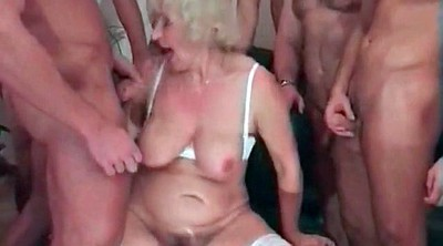 Wife, Wife gangbang, Granny party, Granny group, Swingers sex, Granny gangbang