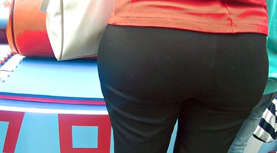 Pants, Old woman, Mature woman, Granny ass