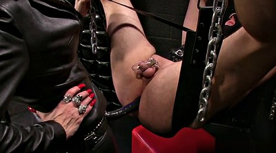 Leather, Strapon mistress