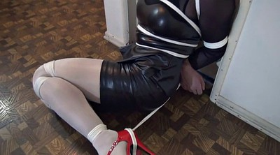 Bondage, Crossdresser, Crossdress, Sandra