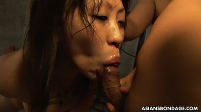 Japanese bondage, Tied, Japanese bdsm, Japanese throat, Japanese deep, Tied blowjob