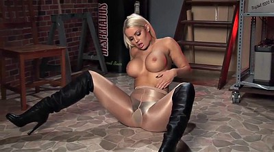 Boots, High boots, Boot, Shiny pantyhose, High, Black pantyhose