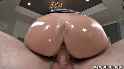Oiled, Big butts