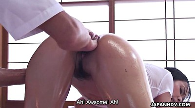 Japanese massage, Japanese amateur, Ass massage