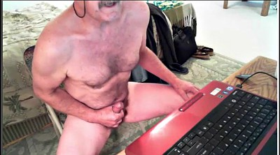 Gay, Daddy, Old daddy, Old young gay, Handjob cumshot compilation